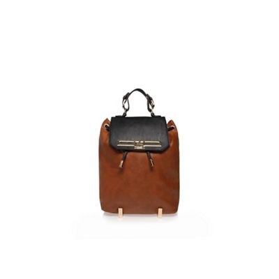 Carvela Black and brown ´Camden´ rucksack - . -