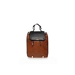 Carvela - Black and brown 'Camden' rucksack
