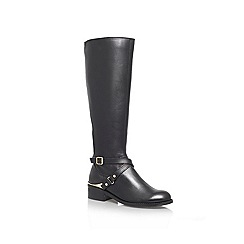 Carvela - Black 'Petrol' leather boot