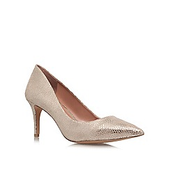 Vince Camuto - Taupe 'Cassina' mid heeled courts
