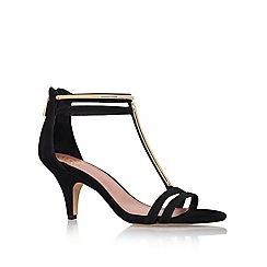 Vince Camuto - Black 'Mitzy' low heeled courts