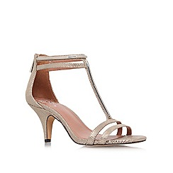 Vince Camuto - Taupe 'Mitzy' low heeled courts