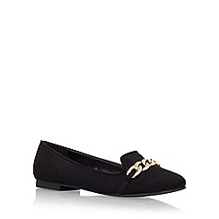 Carvela - Black 'Melissa' Flat Court Shoe