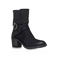 Carvela - Black 'Silk' leather boot