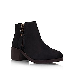 Carvela - Black 'Sebastion' Ankle boot