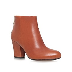 Carvela - Tan 'Superb' high heeled ankle boots