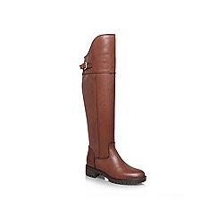 Carvela - Tan 'Wrap' Leather boot