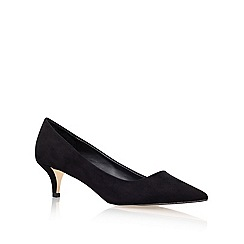 Miss KG - Black 'Collette' Low heeled Court Shoe