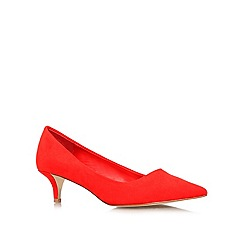 Miss KG - Red 'Collette' low heeled courts