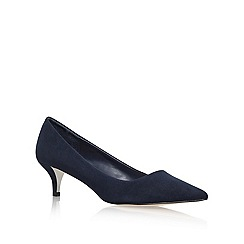 Miss KG - Navy 'Collette' low heeled courts