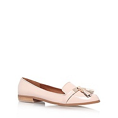 Miss KG - Nude 'NADIA' Flat slip on loafer