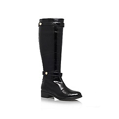Miss KG - Black 'Whitney' Knee High Boot