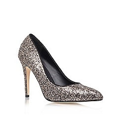 Miss KG - Black 'Carrie' High Heeled Court Shoe