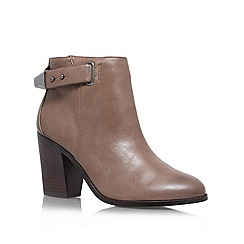 Miss KG - Taupe 'Bea2' high heeled ankle boot