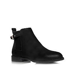 Miss KG - Black 'Sammy' flat ankle boots