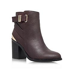 Miss KG - Wine 'Shola' boot