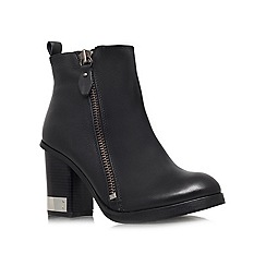 Miss KG - Black 'Sahara' high block heeled ankle boots