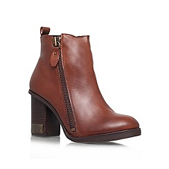 Miss KG - Tan 'Sahara' Leather high heel
