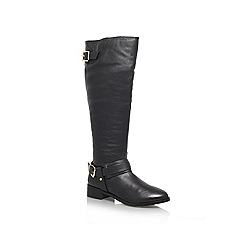 Miss KG - Black 'Wandsworth' Flat knee high boots