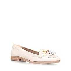 Carvela - Gold 'List' flat slip on loafers