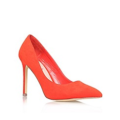 Carvela - Orange 'Kestral' High Heeled Court Shoe