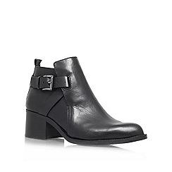 Carvela - Black 'Sasha' Mid Heeled Leather boot