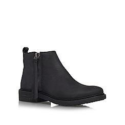 KG Kurt Geiger - Black 'Sketch' flat boots