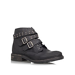 KG Kurt Geiger - Black 'Search' lace up boots