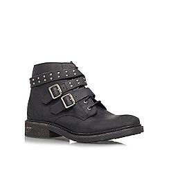 KG Kurt Geiger - Black 'Search' lace up boots