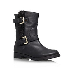 Miss KG - Black 'Samson' Leather boot