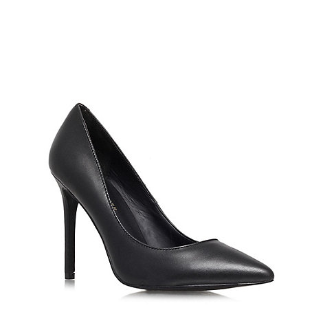 KG Kurt Geiger - Black +Bailey+ high heel courts