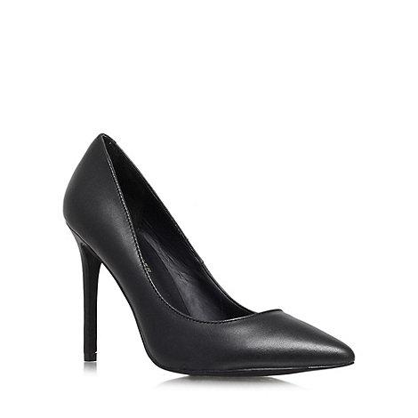 KG Kurt Geiger - Black +Bailey+ high heel courts
