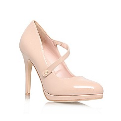 Miss KG - Nude 'Claire' High Heeled Court Shoe