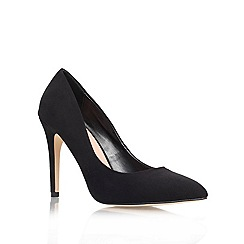Miss KG - Black 'Carrie' Mid Heel Court Shoes