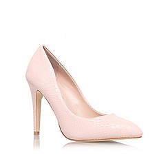 Miss KG - Nude 'Carrie' high heel court shoe