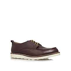 KG Kurt Geiger - Brown 'Mullins' lace up casual shoes