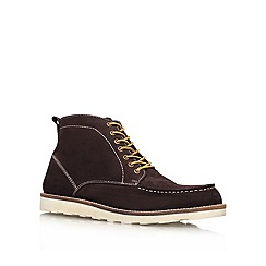 KG Kurt Geiger - Brown 'Morrison' leather boot