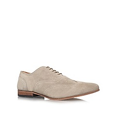 KG Kurt Geiger - Taupe 'Samways' lace up shoes