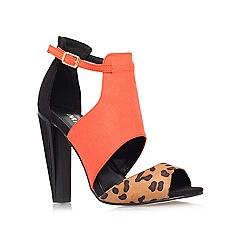 Miss KG - Multi coloured 'Earl' high heeled court shoe