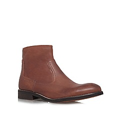 KG Kurt Geiger - Tan 'Beech' ankle boots
