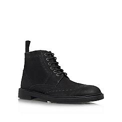 KG Kurt Geiger - Black 'Brockwell' Leather lace up