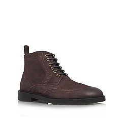 KG Kurt Geiger - Brown 'Brockwell' Leather boot
