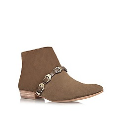Vince Camuto - Khaki 'Davies' low heeled ankle boots
