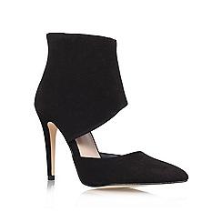 KG Kurt Geiger - Black 'Hart' High heeled shoe boot
