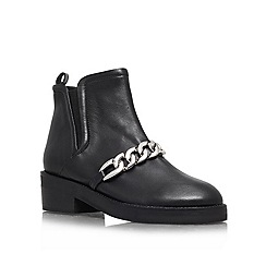KG Kurt Geiger - Black 'Salvation' Leather boot
