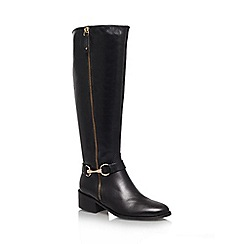 Carvela - Black 'Waffle' Leather boot