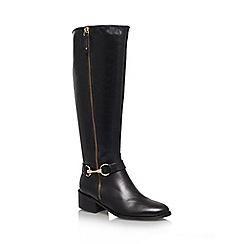 Carvela - Black 'Waffle' Leather boot