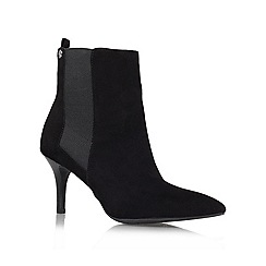 Anne Klein - Black 'Youbet' leather boot