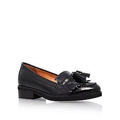 KG Kurt Geiger - Black 'Lawson' flat Court Shoe