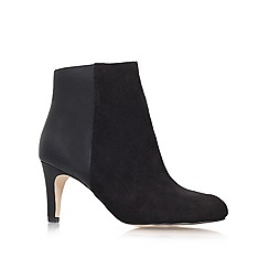 Miss KG - Black 'Heather' mid heeled boots